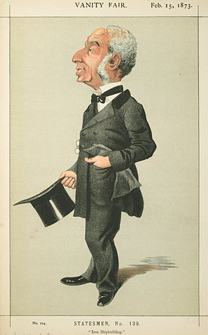 Joseph d'Aguilar Samuda - Caricature of Joseph d'Aguilar Samuda