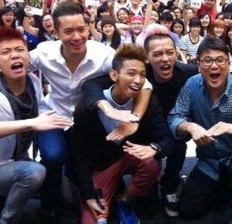 Ah Boys to Men - Image: Jack Neo with Ah Boysto Mencast 2013