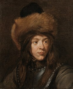 Jacob van Oost (I) - Portrait of Jacob van Oost the Younger in a Gorget and a Fur Hat.jpg