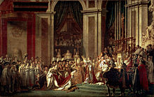 L'incoronazione di Napoleone in un quadro di Jacques-Louis David