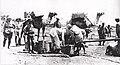 Jaffa 1918, water fantasies being filled.jpg