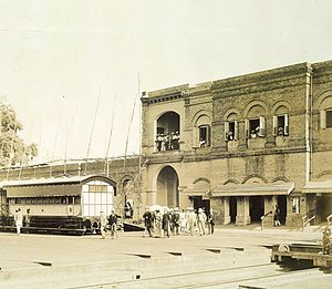 Jamalpur Locomotive Workshop - Jamalpur workshop in 1887