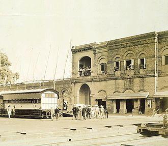 Jamalpur Locomotive Workshop - Jamalpur workshop in 1887