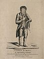 James Burns, a ventriloquist. Engraving, 1804. Wellcome V0007019.jpg