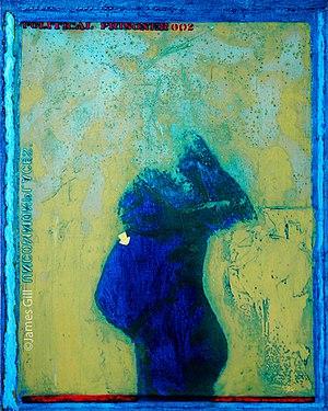 James Gill (artist) - James Gill's painting Political Prisoner (1968)