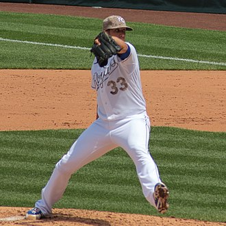 James Shields (baseball) - Shields with the Kansas City Royals in 2013