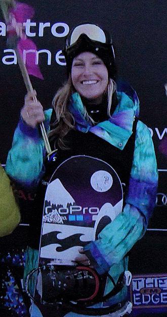 Jamie Anderson (snowboarder) - Anderson in 2013