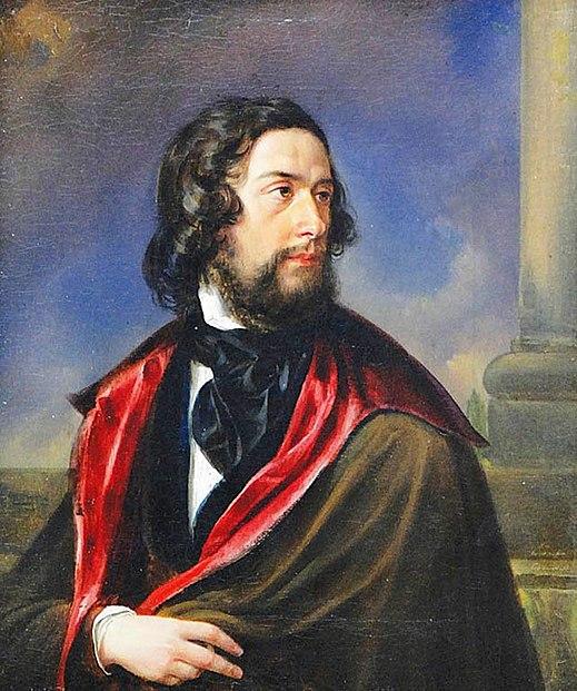 Jan Nepomucen Glowacki - Portrait of an artist (1842)