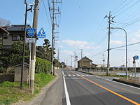 Japan National highway Route355 in Nagayama,Itako city,Ibaraki pref..JPG