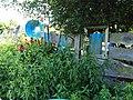 Jardins Rocambole, Corps-Nuds, France, 7-2019, haie végétalisée recyclée de bois de récupération.jpg