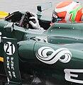 Jarno Trulli control steering wheel switch 2011 Malaysia FP1.jpg