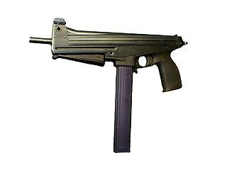 Jatimatic Finnish submachine gun