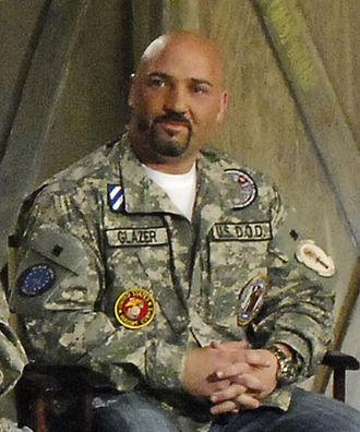 Jay Glazer - Glazer at Bagram Airfield in 2009