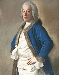 Portret van Joseph Bouër, koopman te Genua