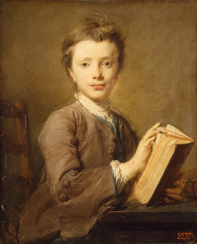 Портрет мальчика с книгой