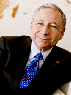Jean Todt FIA President, UN SGs Special Envoy for Road Safety