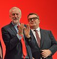 Jeremy Corbyn and Tom Watson, 2016 Labour Party Conference.jpg