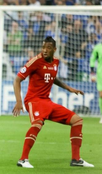 Jérôme Boateng - Boateng playing for Bayern Munich in 2012