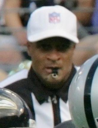 Jerome Boger - Boger working the September 17, 2006 Oakland Raiders-Baltimore Ravens game.
