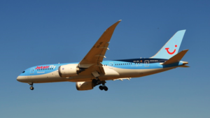 TUI fly Belgium - TUI fly Belgium Boeing 787-8 still wearing Jetairfly titles