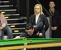 Jimmy White and Maike Kesseler at Snooker German Masters (DerHexer) 2013-01-30 01.jpg