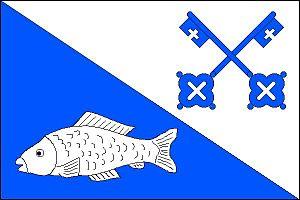Jistebník - Image: Jistebník flag