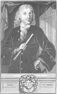 Joan van Hoorn Dutch colonial governor