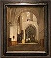 Job adriaensz. berckheyde, interno della chiesa di san bavone, haarlem, 1676.jpg