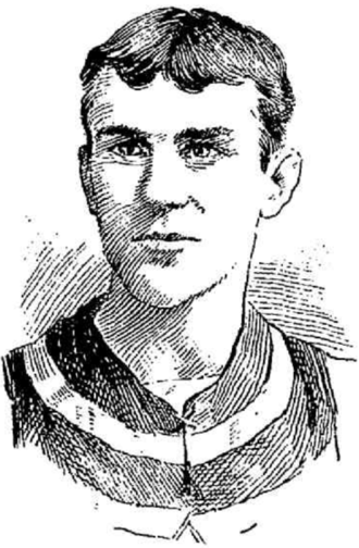 Joe McShane - An illustration of McShane from 1890