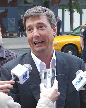 John Ziegler (talk show host) - John Ziegler at a demonstration in New York City, June 2009