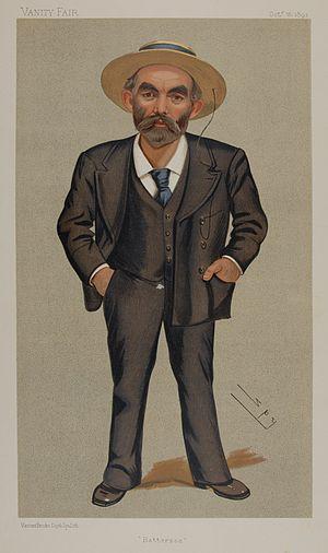 John Burns - Caricature of Burns in Vanity Fair, October 1892