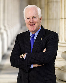 Portrait officiel de John Cornyn.