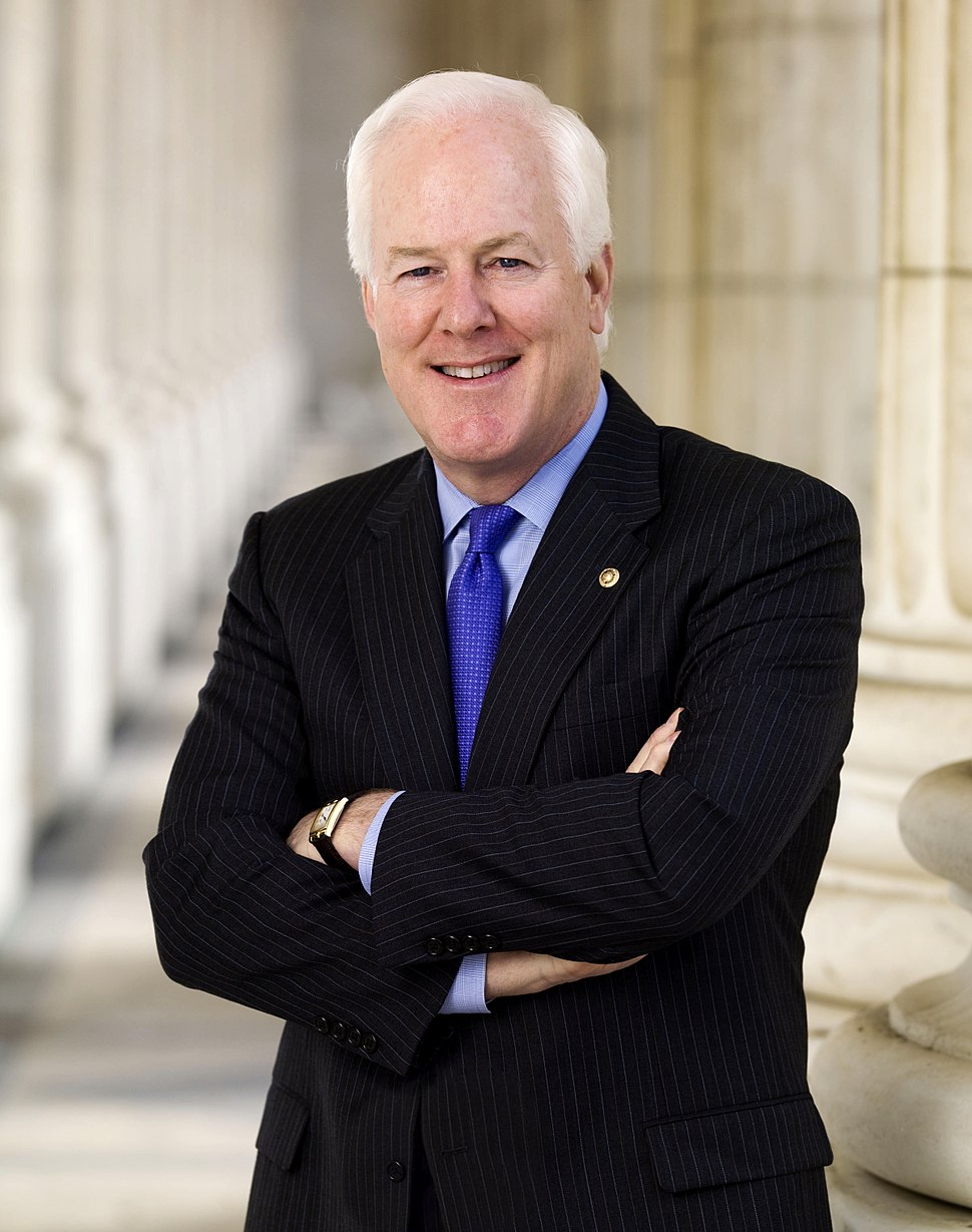 John Cornyn official portrait, 2009
