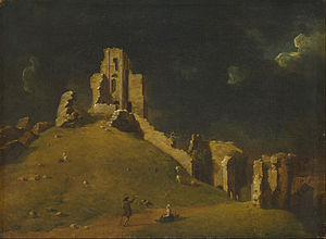 John Inigo Richards - Corfe Castle, Dorset by John Inigo Richards (Yale Center for British Art)