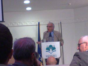 John Esposito - John Esposito in Sarajevo, October 2013
