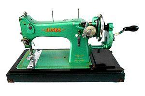 Jones Sewing Machine Company - Image: Jones D53