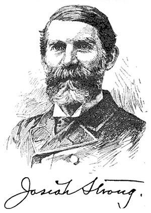 Josiah Strong - Josiah Strong, circa 1893