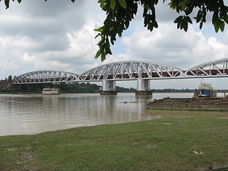 Naihati - Jubilee Bridge