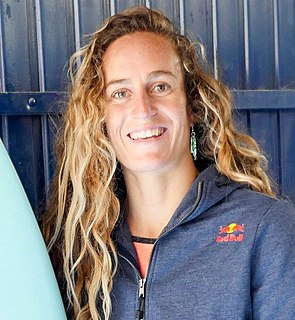 Justine Dupont French professional surfer