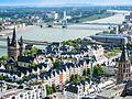 Köln Altstadt Luftbild - Cologne Old Town (18523281821).jpg