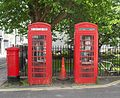 K6 Telephone Kiosks at Pelham Square, Brighton (IoE Code 481042).jpg
