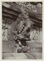 KITLV - 28606 - Kurkdjian - Soerabaja - Gargoyle at the Borobudur temple - circa 1912.tif