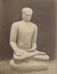 KITLV 115012 - Isidore van Kinsbergen - Seated Buddha at the residential home at Kediri - 1866-12-1867-01.tif