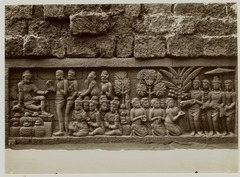 KITLV 28023 - Kassian Céphas - Relief of the hidden base of Borobudur - 1890-1891.tif