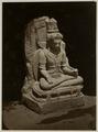 KITLV 28219 - Isidore van Kinsbergen - Hindu sculpture of a seated figure at Yogyakarta - 1865-07-1865-09.tif