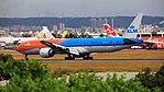 KLM Royal Dutch Airlines, Boeing 777-300ER, PH-BVA - TPE (36358188180).jpg
