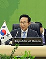 KOCIS President Lee at the trilateral summit meeting (4649165935).jpg