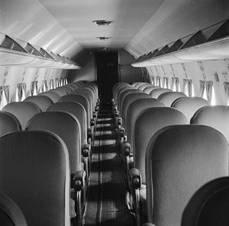 Douglas DC-4 - DC-4 Cabin