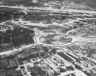 Kadena, Okinawa - Kadena Circle in 1945