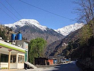 Kaghan (town) - Image: Kaghan,kpk